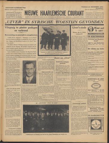 Nieuwe Haarlemsche Courant 1934-12-21