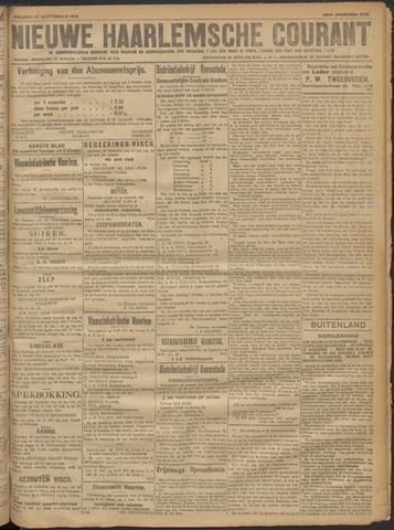 Nieuwe Haarlemsche Courant 1918-09-27