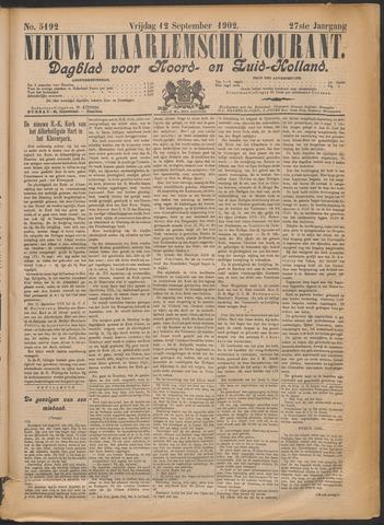 Nieuwe Haarlemsche Courant 1902-09-12