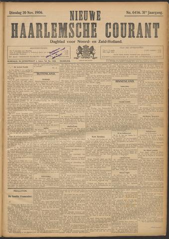 Nieuwe Haarlemsche Courant 1906-11-20