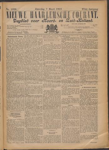 Nieuwe Haarlemsche Courant 1903-03-07