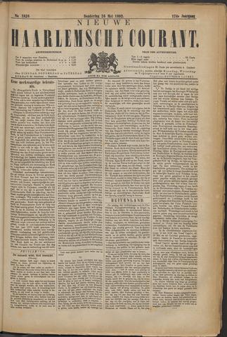 Nieuwe Haarlemsche Courant 1892-05-26