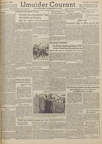 IJmuider Courant 1948-02-11