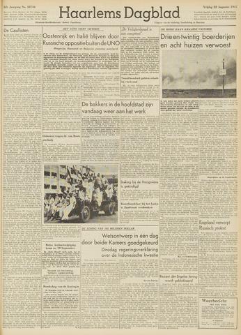 Haarlem's Dagblad 1947-08-22