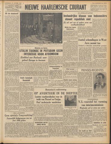Nieuwe Haarlemsche Courant 1947-10-15
