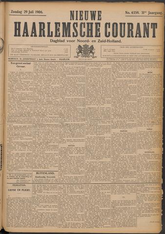 Nieuwe Haarlemsche Courant 1906-07-29
