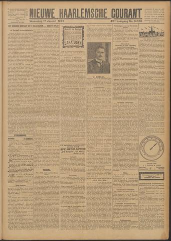 Nieuwe Haarlemsche Courant 1923-01-17