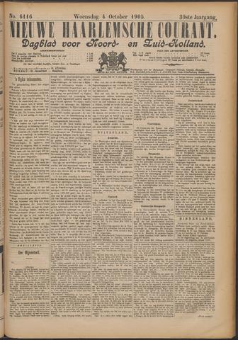 Nieuwe Haarlemsche Courant 1905-10-04