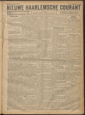 Nieuwe Haarlemsche Courant 1920-08-16