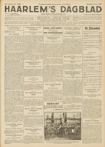 Haarlem's Dagblad 1935-06-22