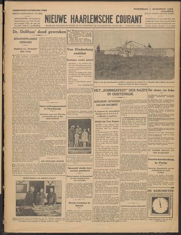 Nieuwe Haarlemsche Courant 1934-08-01