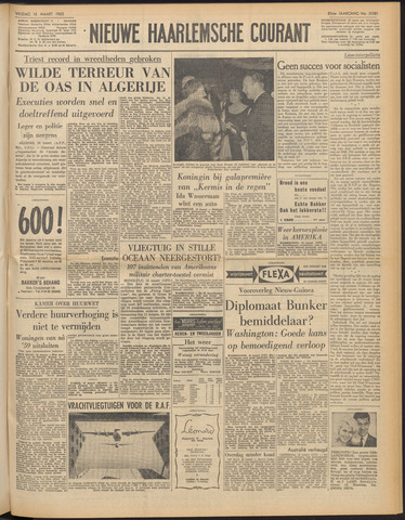 Nieuwe Haarlemsche Courant 1962-03-16