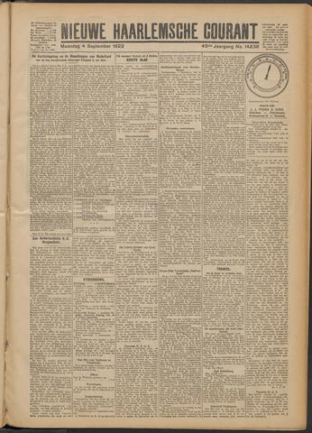 Nieuwe Haarlemsche Courant 1922-09-04