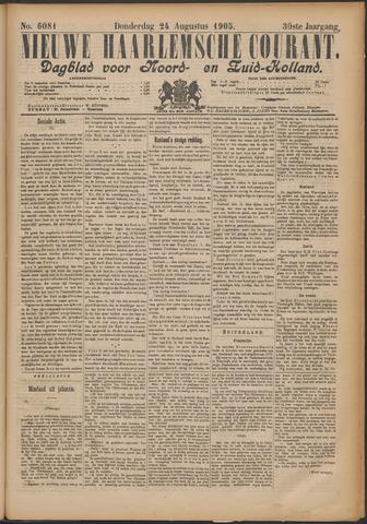 Nieuwe Haarlemsche Courant 1905-08-24
