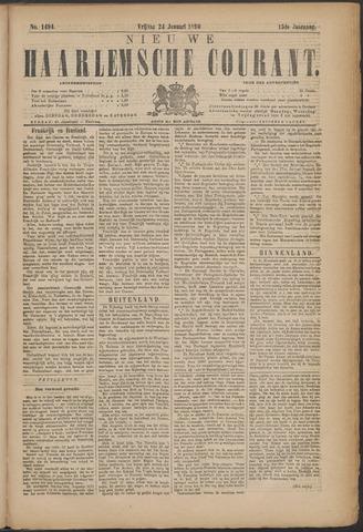Nieuwe Haarlemsche Courant 1890-01-24