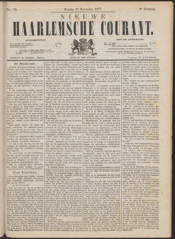 Nieuwe Haarlemsche Courant 1877-11-18