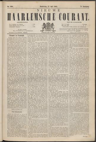 Nieuwe Haarlemsche Courant 1882-07-27