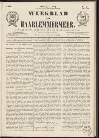 Weekblad van Haarlemmermeer 1860-07-06