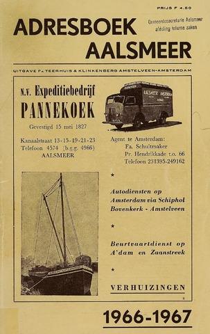 Adresboeken Aalsmeer 1966