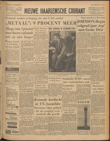 Nieuwe Haarlemsche Courant 1963-11-27