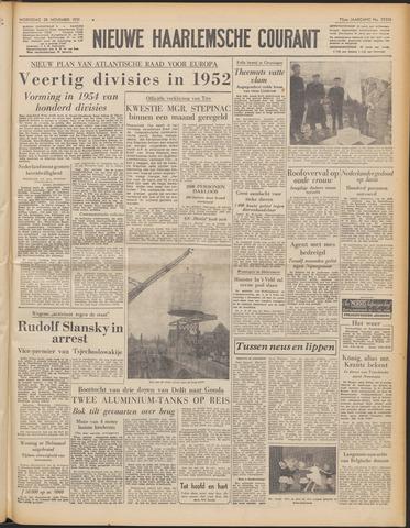 Nieuwe Haarlemsche Courant 1951-11-28