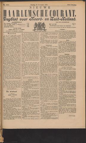Nieuwe Haarlemsche Courant 1901-11-26