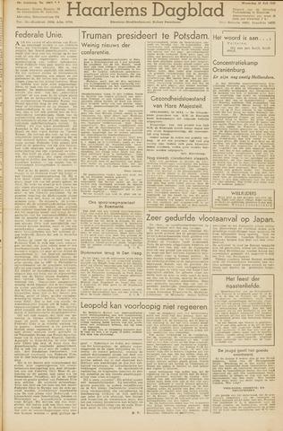 Haarlem's Dagblad 1945-07-18