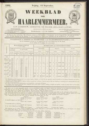 Weekblad van Haarlemmermeer 1860-09-14