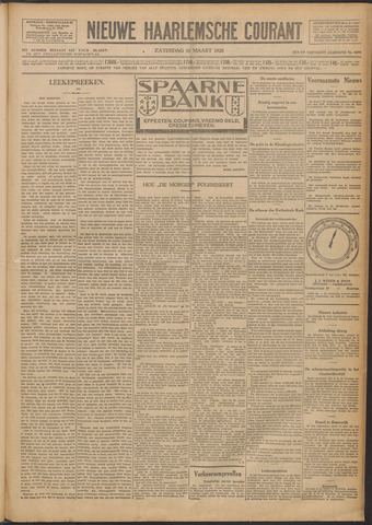 Nieuwe Haarlemsche Courant 1928-03-10