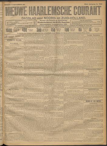 Nieuwe Haarlemsche Courant 1911-09-12