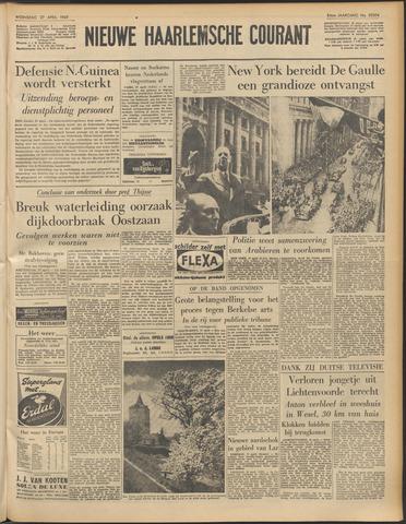 Nieuwe Haarlemsche Courant 1960-04-27