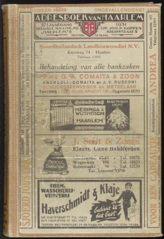 Adresboeken Haarlem 1931
