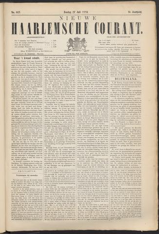 Nieuwe Haarlemsche Courant 1884-07-27