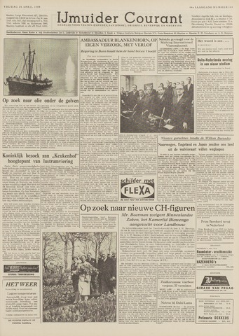 IJmuider Courant 1959-04-24