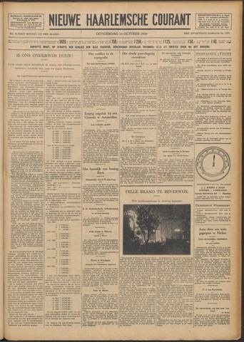 Nieuwe Haarlemsche Courant 1930-10-16
