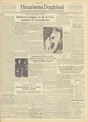 Haarlem's Dagblad 1954-01-12