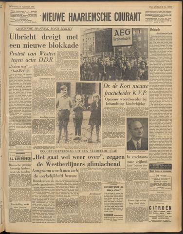 Nieuwe Haarlemsche Courant 1961-08-16