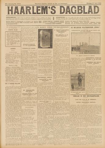 Haarlem's Dagblad 1926-04-27