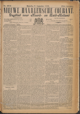 Nieuwe Haarlemsche Courant 1898-08-08
