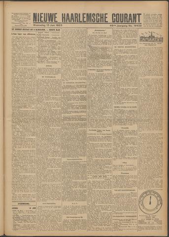 Nieuwe Haarlemsche Courant 1923-06-13