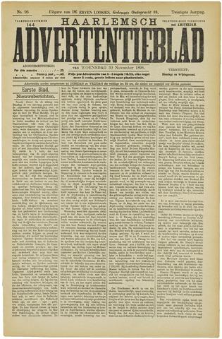Haarlemsch Advertentieblad 1898-11-30