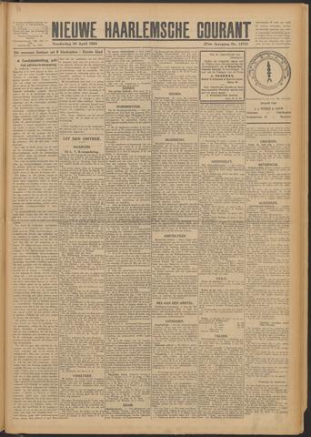 Nieuwe Haarlemsche Courant 1924-04-24