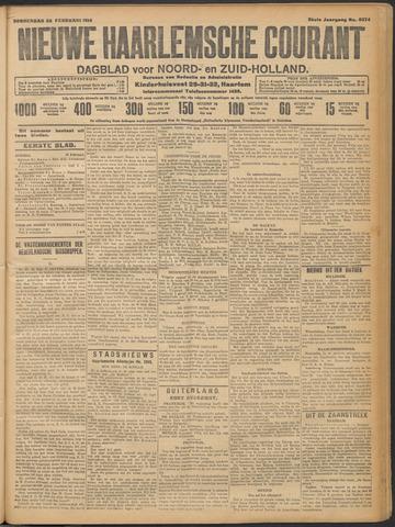 Nieuwe Haarlemsche Courant 1914-02-26