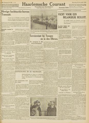Haarlemsche Courant 1942-11-18