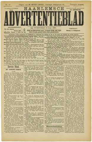 Haarlemsch Advertentieblad 1898-06-22