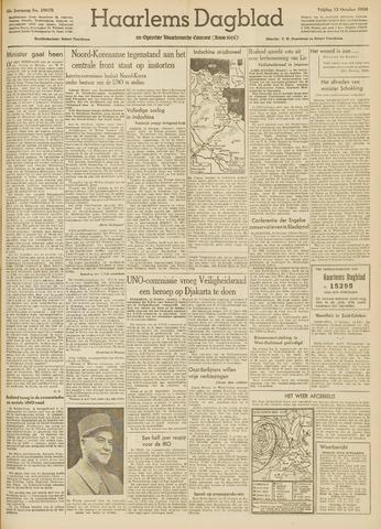 Haarlem's Dagblad 1950-10-13