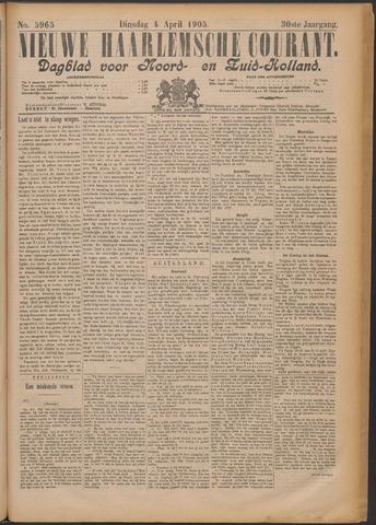 Nieuwe Haarlemsche Courant 1905-04-04