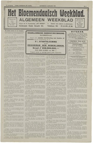 Het Bloemendaalsch Weekblad 1919