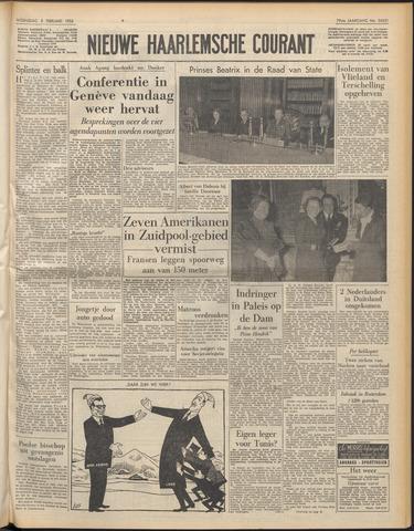 Nieuwe Haarlemsche Courant 1956-02-08