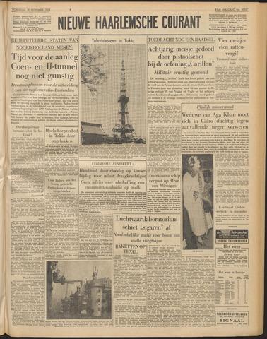 Nieuwe Haarlemsche Courant 1958-11-19